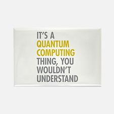 Quantum Computing Thing Rectangle Magnet