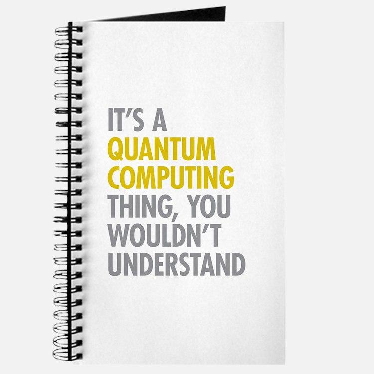 Quantum Computing Thing Journal