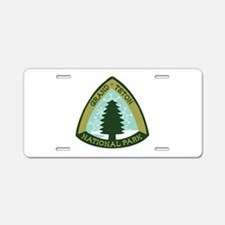 Grand Teton Aluminum License Plate