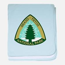 Grand Teton baby blanket
