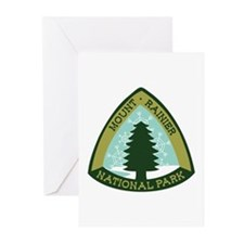 Mount Rainer Greeting Cards