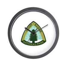 Mount Rainer Wall Clock