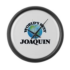 World's Best Joaquin Large Wall Clock