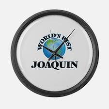 World's Best Joaquin Large Wall Clock