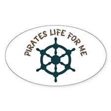 Pirates Life Decal
