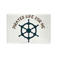 Pirates Life Magnets