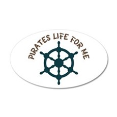 Pirates Life Wall Decal