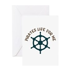 Pirates Life Greeting Cards