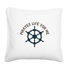 Pirates Life Square Canvas Pillow