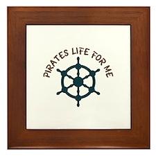 Pirates Life Framed Tile