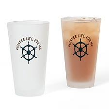 Pirates Life Drinking Glass