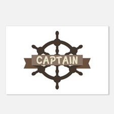 Captain Wheel Postcards (Package of 8)