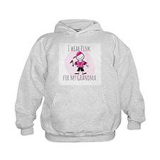 pink boy grandma Hoodie