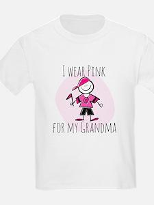 pink boy grandma T-Shirt