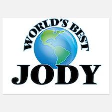 World's Best Jody Invitations