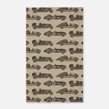 Vintage Race Car 3'x5' Area Rug