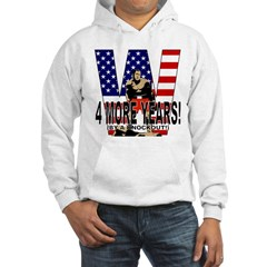 George W Bush by Knockout Hoodie
