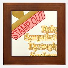 Reflex Sympathetic Dystrophy Syndrome Framed Tile