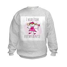 Pink for Auntie Sweatshirt
