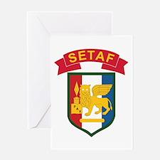 Southern European Task Force (SETAF Greeting Cards