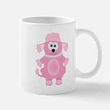 Silly Goofkins Pink Poodle Mug