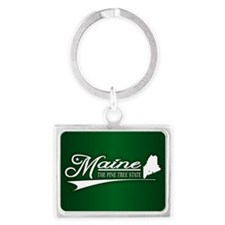 Maine State of Mine Keychains