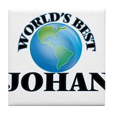 World's Best Johan Tile Coaster