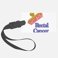 Rectal Cancer Luggage Tag