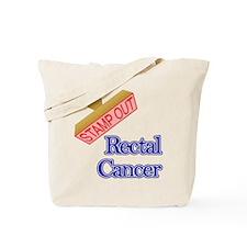 Rectal Cancer Tote Bag