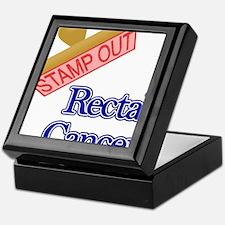 Rectal Cancer Keepsake Box