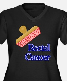Rectal Cancer Plus Size T-Shirt