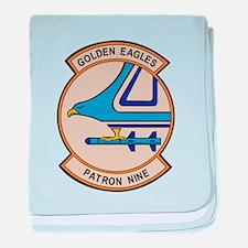VP9_golden_eagle.png baby blanket