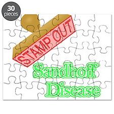 Sandhoff Disease Puzzle