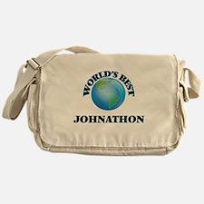 World's Best Johnathon Messenger Bag