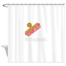 Schizophrenia Shower Curtain