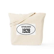 Established 1928 Tote Bag