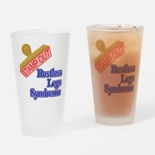 Restless Legs Syndrome Drinking Glass