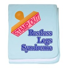 Restless Legs Syndrome baby blanket