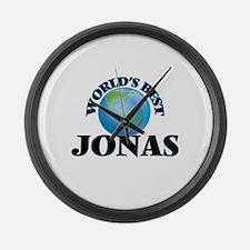 World's Best Jonas Large Wall Clock