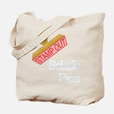 Sciatic Pain Tote Bag