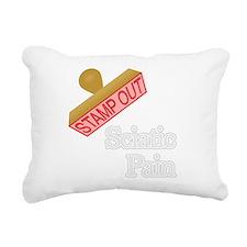 Sciatic Pain Rectangular Canvas Pillow