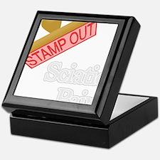 Sciatic Pain Keepsake Box