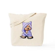 Yorkie Bath Bear Tote Bag
