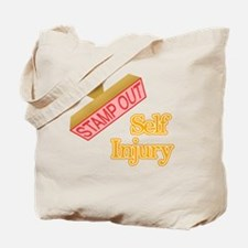 Self Injury Tote Bag