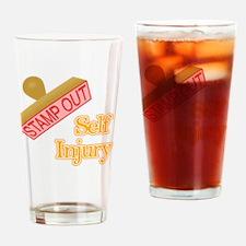 Self Injury Drinking Glass