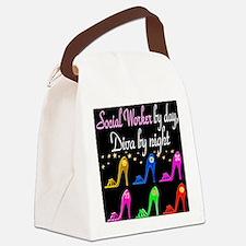 SOCIAL WORKER DIVA Canvas Lunch Bag