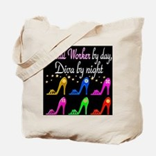 SOCIAL WORKER DIVA Tote Bag