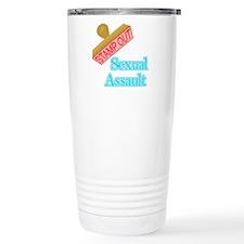 Sexual Assault Travel Mug