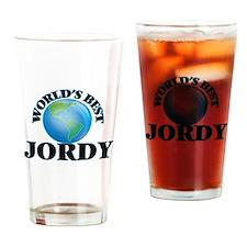World's Best Jordy Drinking Glass