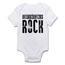 Interrogators Rock Infant Bodysuit
